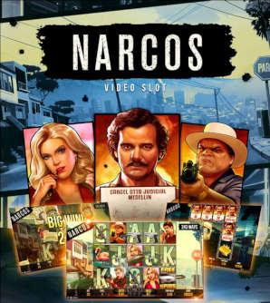 Uusi Narcos kolikkopeli vetää puoleensa sarjan faneja